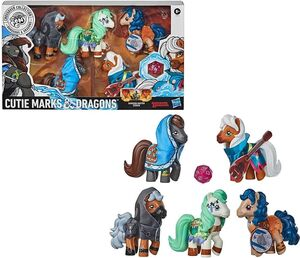 MY LITTLE PONY. CUTIE MARKS AND DRAGONS (INGLES)