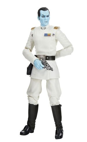 STAR WARS GRAND ADMIRAL THRAWN FIGURA 15 CM GREATEST HITS BLACK SERIES F13085X0