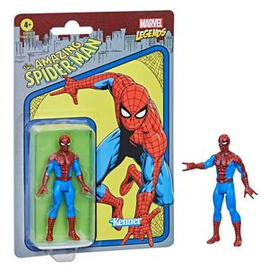 SPIDERMAN FIGURA 9.5 CM MARVEL LEGENDS RETRO F26545X0