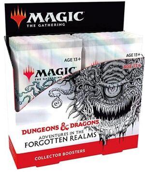 MAGIC - D&D AVENTURAS EN FORGOTTEN REALMS SOBRE DE COLECCIONISTA (CASTELLANO)