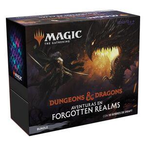 MAGIC - D&D AVENTURAS EN FORGOTTEN REALMS BUNDLE (CASTELLANO)