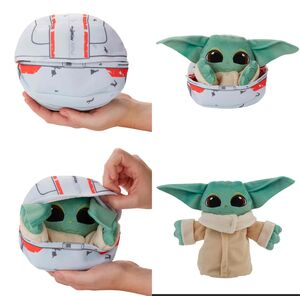 STAR WARS THE MANDALORIAN PELUCHE THE CHILD BABY YODA TRANSFORM