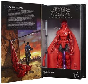STAR WARS CARNOR JAX FIGURA 15 CM BLACK SERIES F28165L0