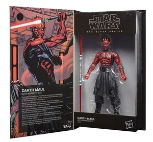 STAR WARS DARK MAUL FIGURA 15 CM BLACK SERIES F28145L0