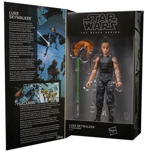 STAR WARS LUKE SKYWALKER & YSALAMIRI FIGURA 15 CM BLACK SERIES F30065L0