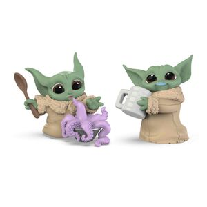 STAR WARS THE MANDALORIAN PACK THE CHILD BABY YODA PULPO+JARRA SET 2 FIGURAS 5,5CM