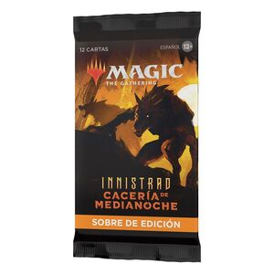 MAGIC - INNISTRAD: CACERÍA DE MEDIANOCHE SOBRE DE EXPANSIÓN (SET BOOSTERS) (CASTELLANO)