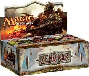 MAGIC- ZENDIKAR SOBRE
