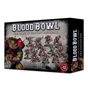 BLOOD BOWL TEAM THE GOUDED EYE