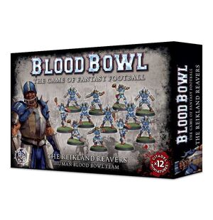 BLOOD BOWL TEAM THE REIKLAND REAVERS