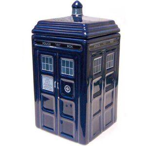 DOCTOR WHO BOTE PARA GALLETAS TARDIS