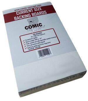 COMIC BOOK CARDBOARDS CURRENT CARTONES PARA COMICS (100) (COMIC CONCEPT)