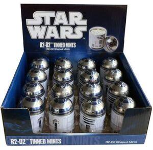 STAR WARS CAJA METAL R2-D2 CON CARAMELOS