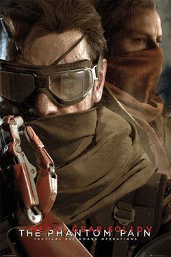 METAL GEAR SOLID V POSTER 61 X 91 GOGGLES