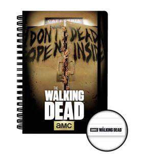 THE WALKING DEAD LIBRETA A5 DEAD INSIDE