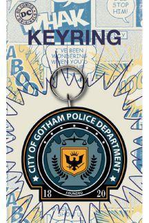 GOTHAM POLICE LLAVERO CAUCHO 7 CM DC COMICS