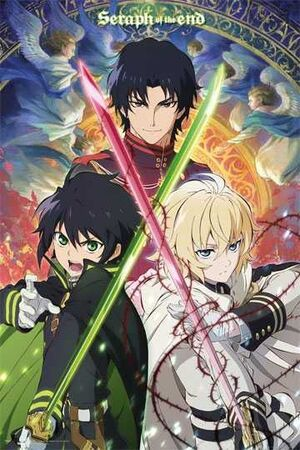 POSTER SERAPH OF THE END TRIO 61 X 91 CM