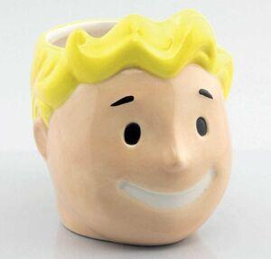 FALLOUT TAZA 3D VAULT BOY