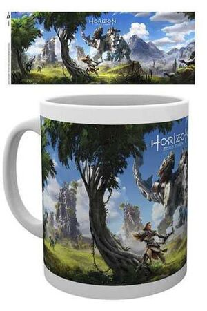 HORIZON ZERO DAWN TAZA KEY ART