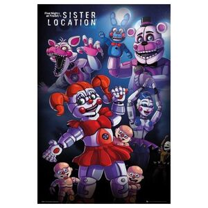 POSTER FIVE NIGHTS AT FREDDYS LOCATION GROUP 61 X 91 CM