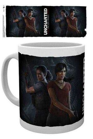 UNCHARTED THE LOST LEGACY TAZA COVER