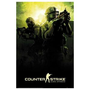 POSTER COUNTER STRIKE GLOBAL OFFENSIVE 61 X 91 CM