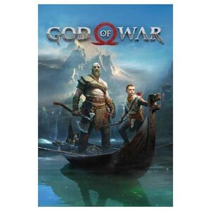 POSTER GOD OF WAR KEY ART 61 X 91 CM