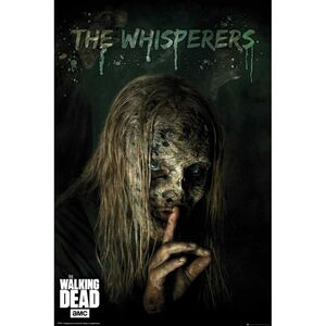 POSTER THE WALKING DEAD THE WHISPERERS 61 X 91 CM