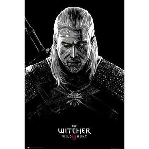 POSTER THE WITCHER TOXICITY POISONING 61 X 91 CM