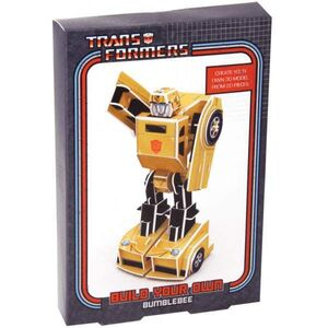 TRANSFORMERS PAPERCRAFT BUMBLE BEE