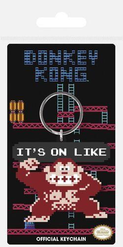 DONKEY KONG LLAVERO CAUCHO IT'S ON LIKE 6 CM