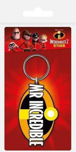 LOS INCREIBLES 2 LLAVERO CAUCHO MR INCREDIBLE 6 CM