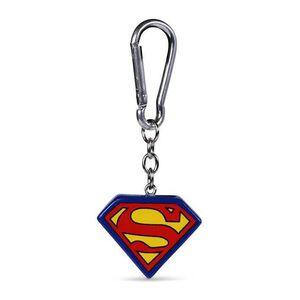 SUPERMAN LLAVERO 3D LOGO 4 CM DC COMICS