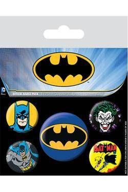 BATMAN PACK 5 CHAPAS