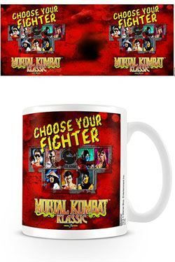 MORTAL KOMBAT TAZA CHOOSE YOUR FIGHTER