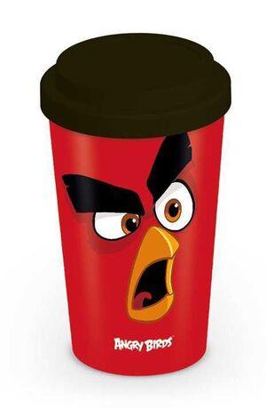 ANGRY BIRDS TAZA DE VIAJE RED