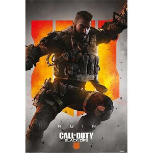 POSTER CALL OF DUTY BLACK OPS 4 RUIN 61 X 91 CM