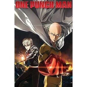 POSTER ONE PUNCH-MAN DESTRUCTION 61 X 91 CM