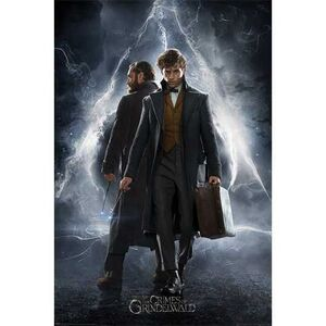 POSTER ANIMALES FANTASTICOS THE CRIMES OF GRINDELWALD 61 X 91 CM
