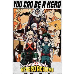 POSTER MY HERO ACADEMIA BE A HERO 61 X 91,5