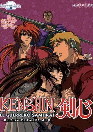 DVD KENSHIN LA SERIE TV #17