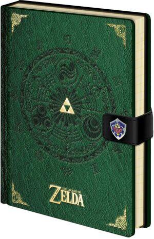 THE LEGEND OF ZELDA LIBRETA A5 TRIFORCE NEW VERSION