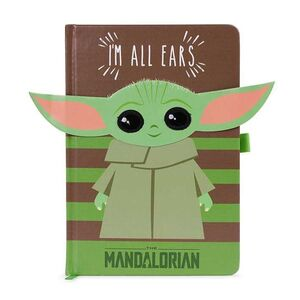 STAR WARS THE MANDALORIAN LIBRETA PREMIUM A5 I'M ALL EARS GREEN