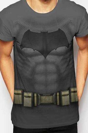 BATMAN VS SUPERMAN CAMISETA CHICO SUBLIMATION BATMAN COSTUME T-L