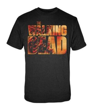 THE WALKING DEAD CAMISETA LOGO L