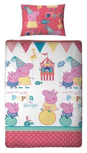 PEPPA PIG FUNDA NORDICA REVERSIBLE FUNFAIR 135 X 200 CM
