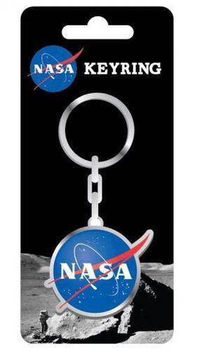 NASA LLAVERO METALICO BADGE 5 CM