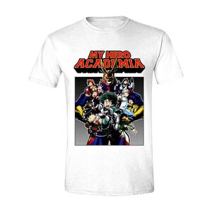 MY HERO ACADEMIA CAMISETA POSTER SHOT XL