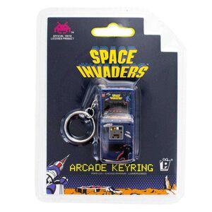 SPACE INVADERS LLAVERO 3D ARCADE MACHINE 6 CM