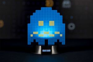 PAC-MAN LAMPARA 3D ICON TURN TO BLUE GHOST 10 CM